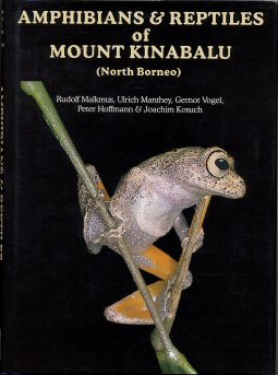 Book: The Amphibians and Reptiles of Mount Kinabalu